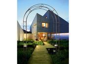 "Arche de jardin ""SOLAR ARCH"" - Dimensions : 120 x 30 x 230 cm -"