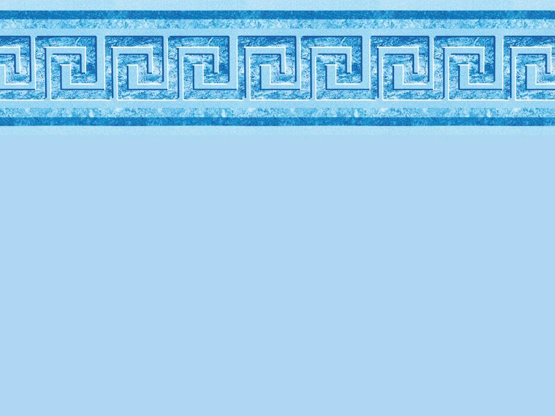 Piscine bleu hawai for Frise pour liner piscine pas cher