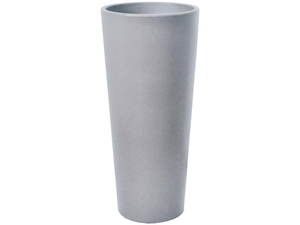 pot fleurs alteo gris ciment 38 5 cm 58070 58074. Black Bedroom Furniture Sets. Home Design Ideas