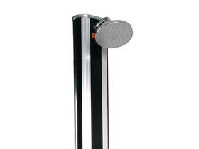 Douche solaire en aluminium avec rince pieds et brumisateur - 40L