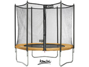 "Trampoline ""Funni POP 300"" + filet - 3 pieds"