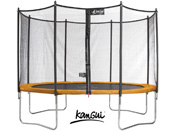 "Trampoline ""Funni POP 430"" + filet - 4 pieds"
