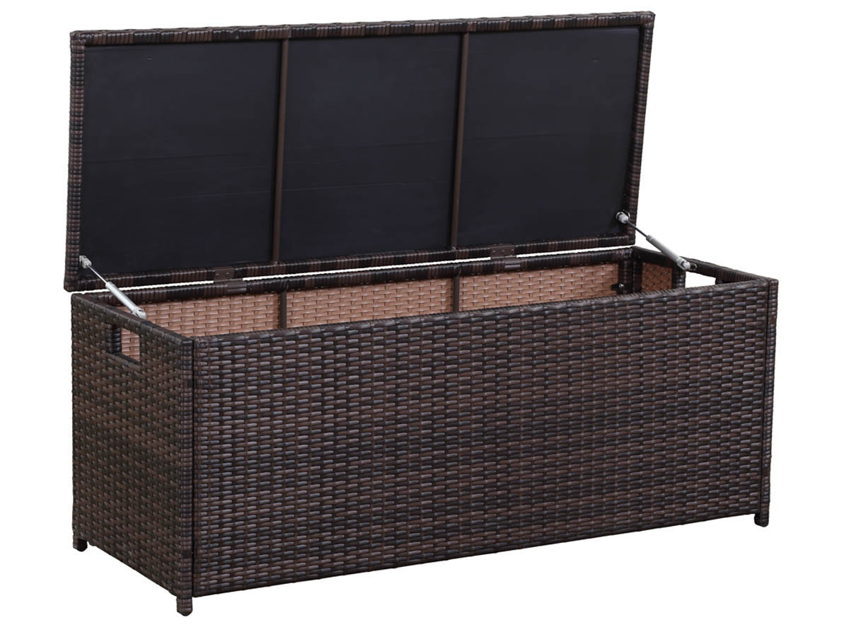 coffre jardin victor 340l buffalo 130 x 50 x 52 cm. Black Bedroom Furniture Sets. Home Design Ideas