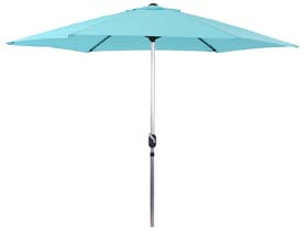 Parasol jardin droit Alu