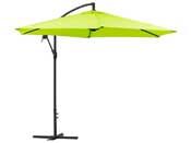 """Parasol jardin déporté Alu """"Ilios"""" - Rond - Ø 3 m - Vert"""