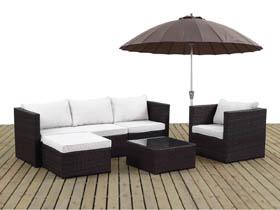 salon de jardin r sine tress e. Black Bedroom Furniture Sets. Home Design Ideas