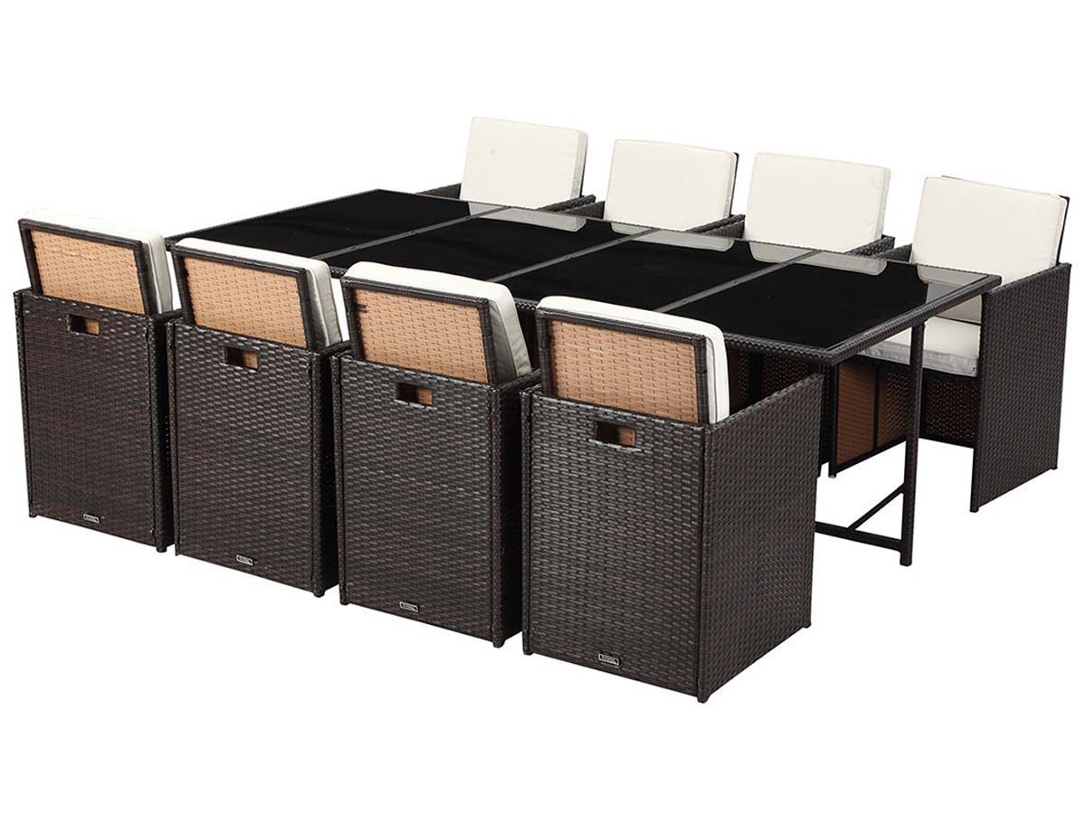 salon de jardin r sine tress e chicago 8 buffalo. Black Bedroom Furniture Sets. Home Design Ideas