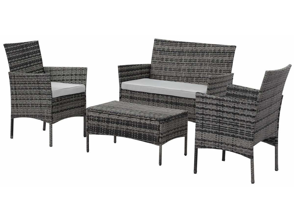 mobilier jardin salon. Black Bedroom Furniture Sets. Home Design Ideas