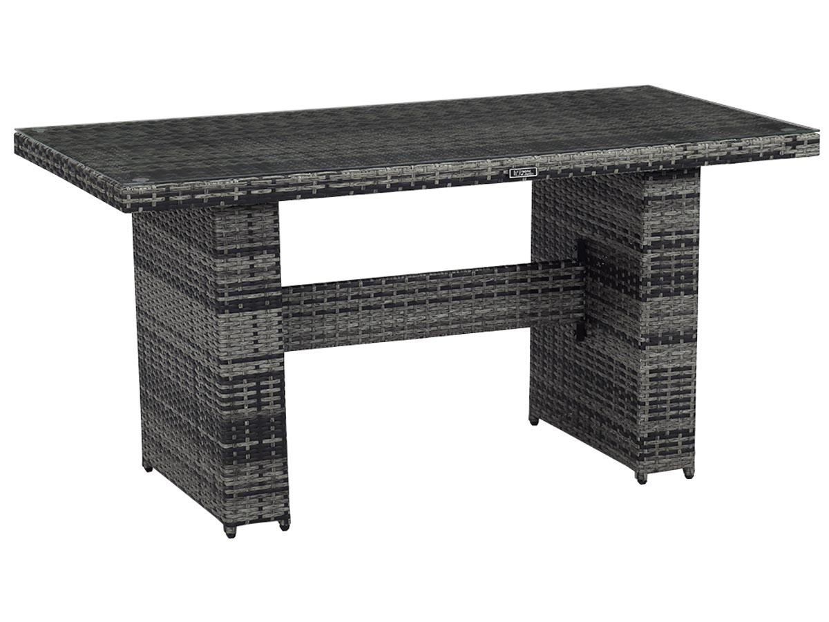 Table repas en r sine tress e ibiza florida gris - Etabli de jardin ...