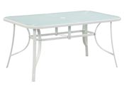 "Table de jardin ""Cordoba"" - Phoenix - 6 places - Blanc"