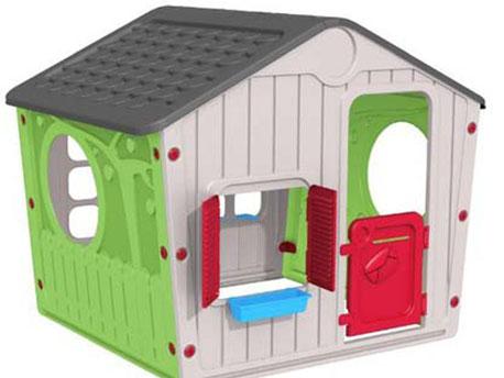 """Cabane enfant en PVC """"Galilée"""" - 140 x 108 x 115.5 cm"""