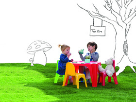 Set enfant Table + 4 Chaises