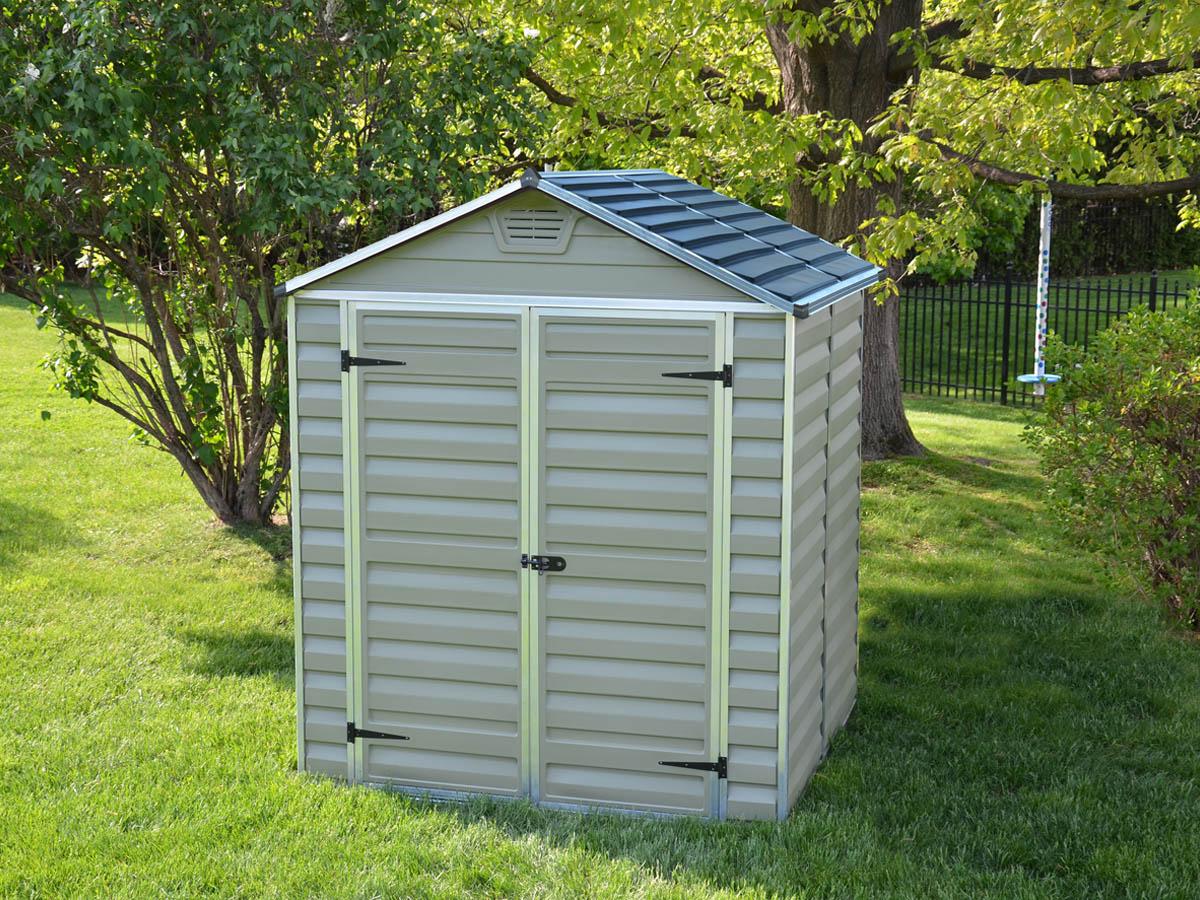 abri de jardin polycarbonate toit translucide 69493 69494. Black Bedroom Furniture Sets. Home Design Ideas