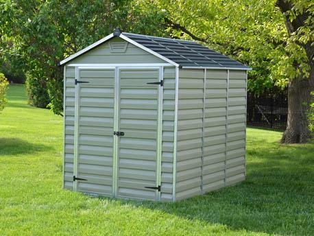 abri de jardin polycarbonate toit translucide. Black Bedroom Furniture Sets. Home Design Ideas