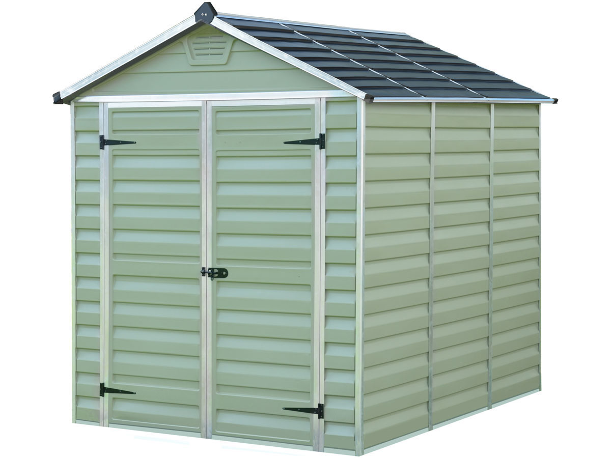 abri de jardin polycarbonate skylight vert 69493 69495. Black Bedroom Furniture Sets. Home Design Ideas