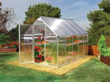 Serre jardin polycarbonate - Mini serre polycarbonate ...
