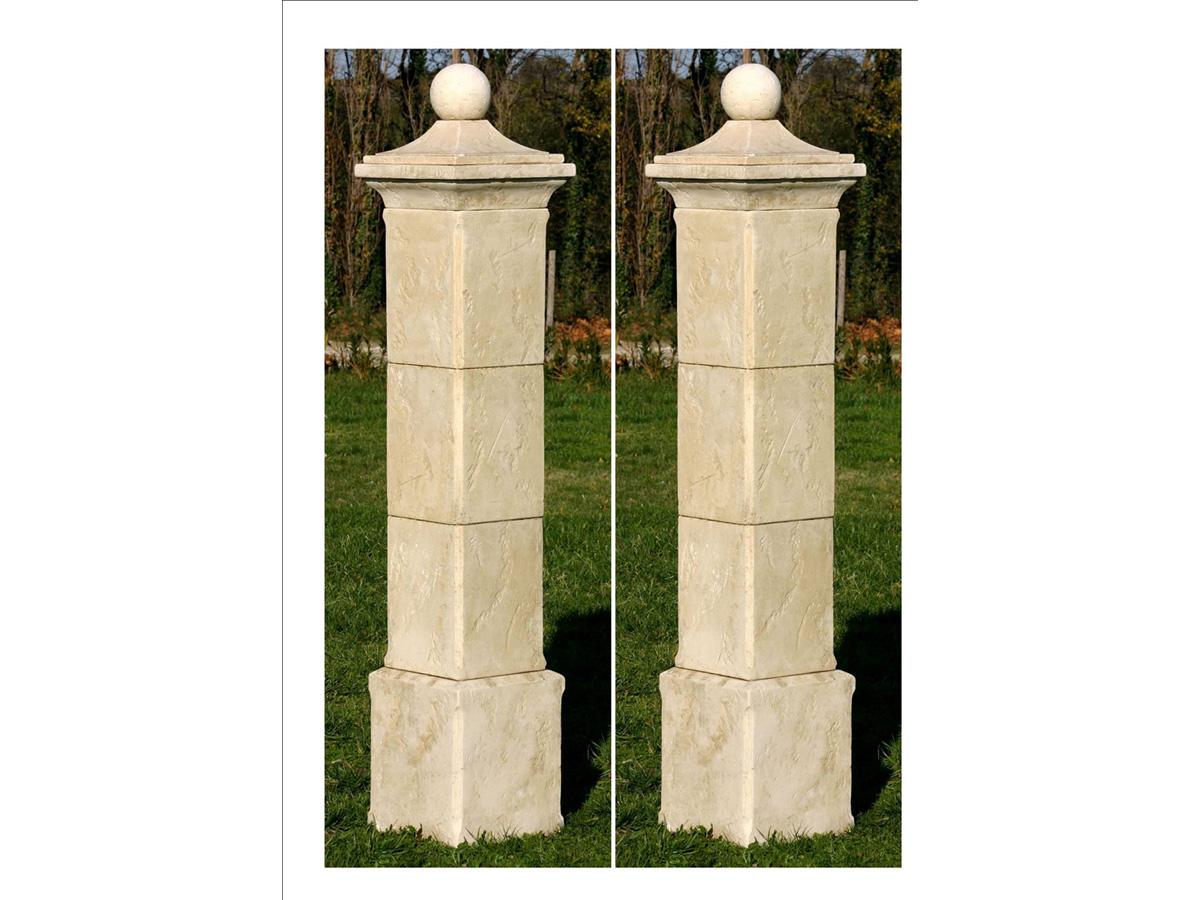 lampe pour pilier de portail id es inspir es pour la. Black Bedroom Furniture Sets. Home Design Ideas