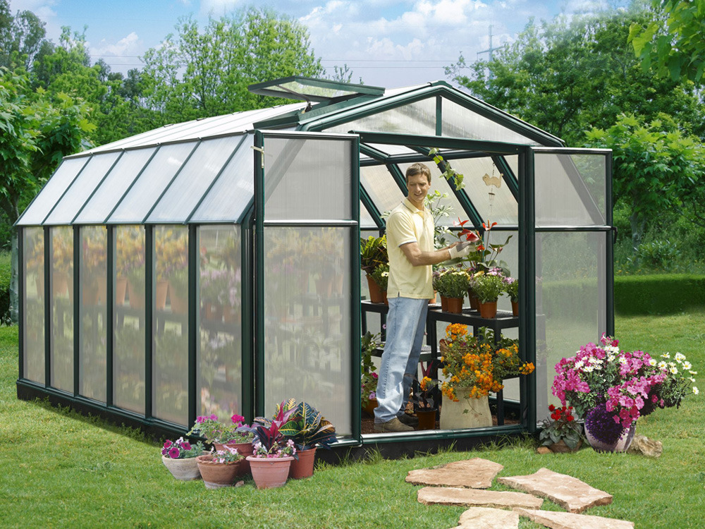 serre jardin polycarbonate gauguin m 60272. Black Bedroom Furniture Sets. Home Design Ideas