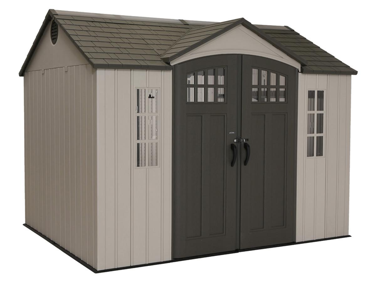 abri de jardin r sine lifetime x m m2 80333. Black Bedroom Furniture Sets. Home Design Ideas