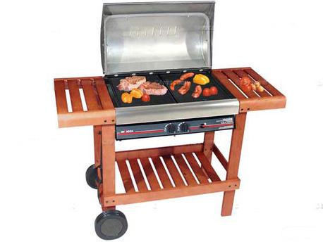 "Barbecue gaz ""Adelaide"" - 2 brûleurs - 12 kw"