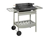 "Barbecue bois ""Madisson"" - Grill rectangle : 53 x 39 cm"