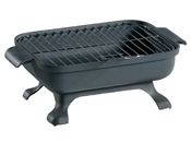 "Barbecue bois ""Malawi""- Grill rectangle : 32 x 22 cm"