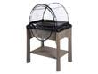 Espace potager Veg&Table avec serre - Coloris taupe