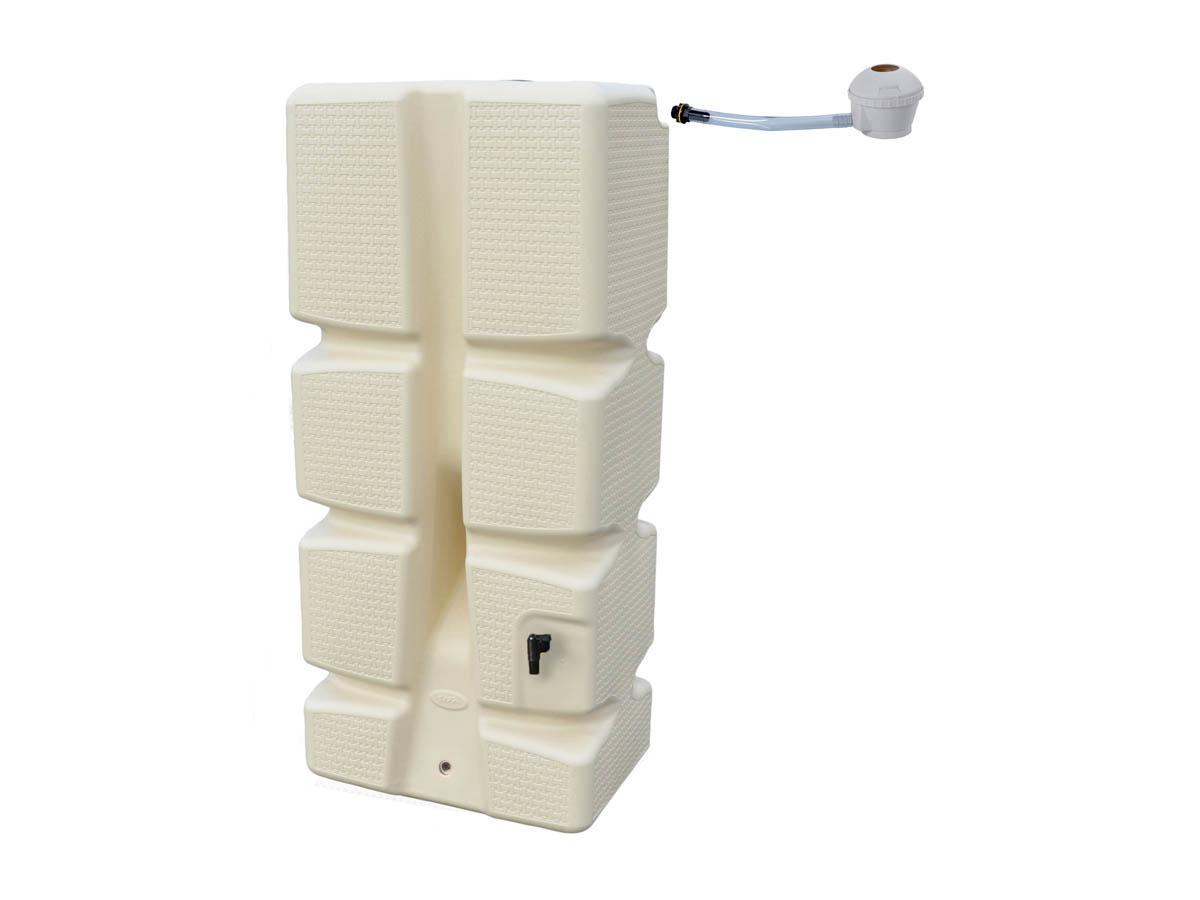 r cup rateur d 39 eau 310l recup 39 eco beige d cor tress collecteur. Black Bedroom Furniture Sets. Home Design Ideas