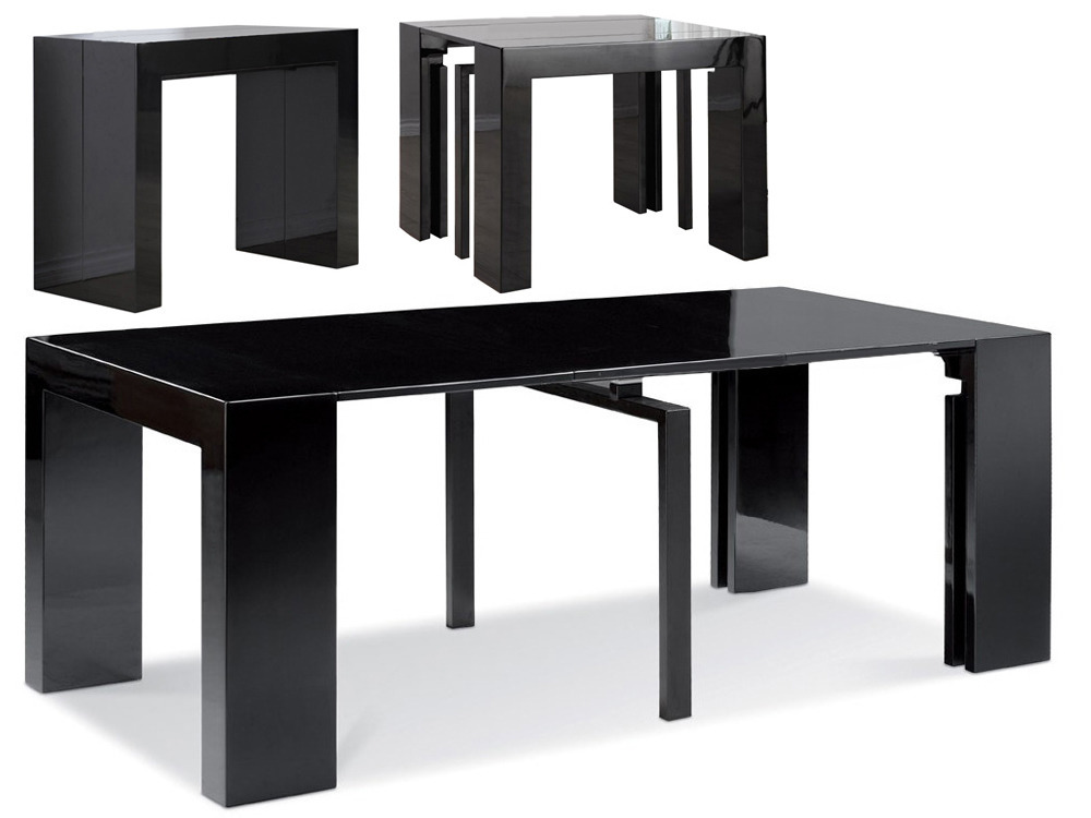 table console extensible elsa 200x94x75 cm 61883. Black Bedroom Furniture Sets. Home Design Ideas
