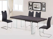 "Table repas ""Vivia"" - 200 x 100 x 75 cm - Taupe"