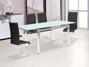 "Table repas extensible ""Sterna"" - 120/180 x 80 x 75 cm"