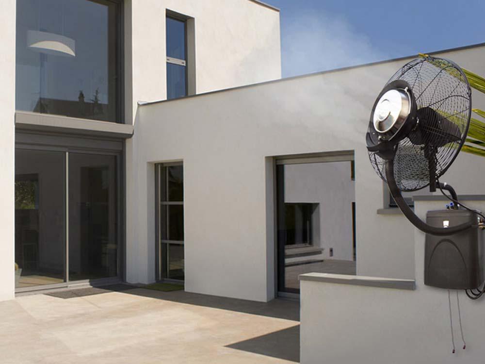 Ventilateur brumisateur mural haute performance