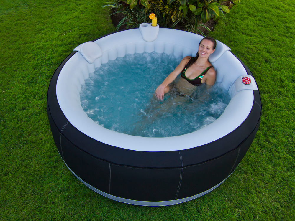 Spa ospazia rond gonflable 4 personnes 60883 for Spa gonflable exterieur