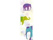 """Toile décorative extérieure """"Elephant"""" 0,60  x  1m."""