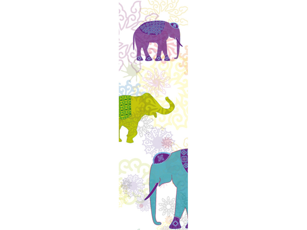 Toile décorative extérieure Elephant 0,80 x 1m