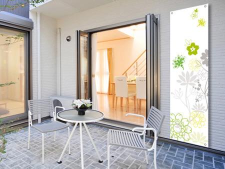 Toile décorative thème Floral 1 0,80 x 1m