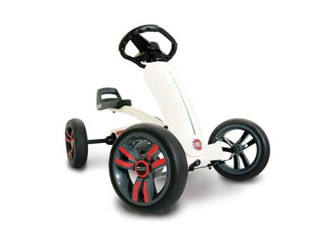 """Kart à pédales """"Buzzy Fiat 500"""" - 3/5 ans"""