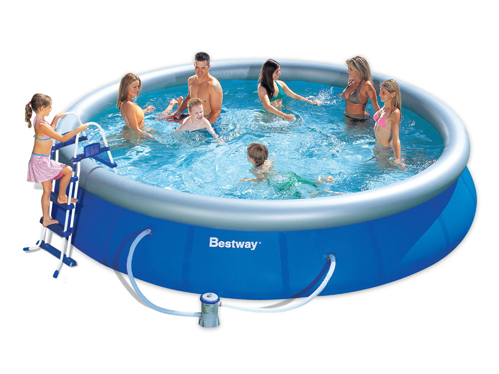 Piscine autoportante ronde x h m 66838 for Protection platre piscine
