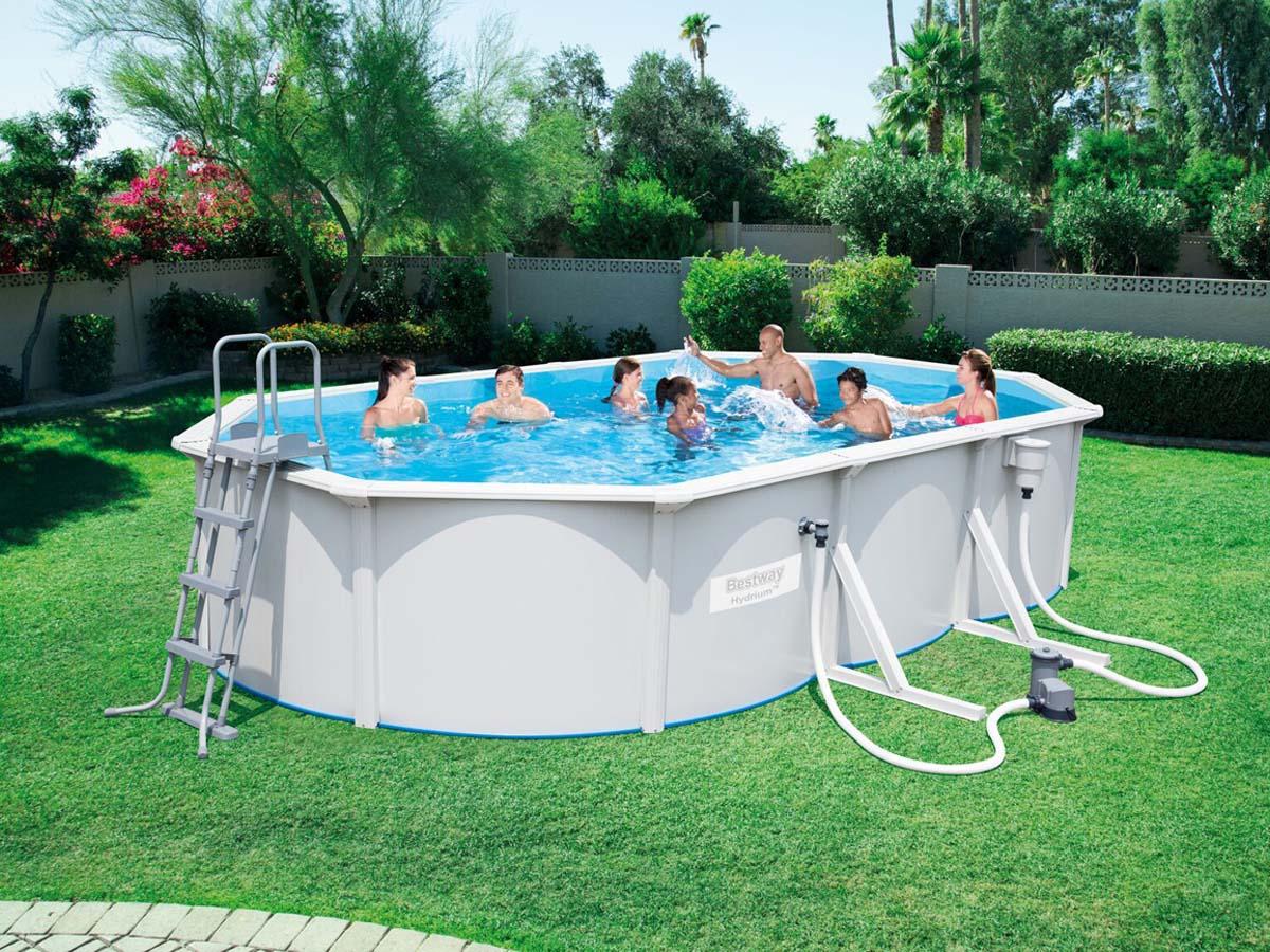 piscine acier 6.10