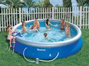 """Piscine autoportante ronde """"Fast Set Pools"""" - Ø 4.57 x 0.91 m"""