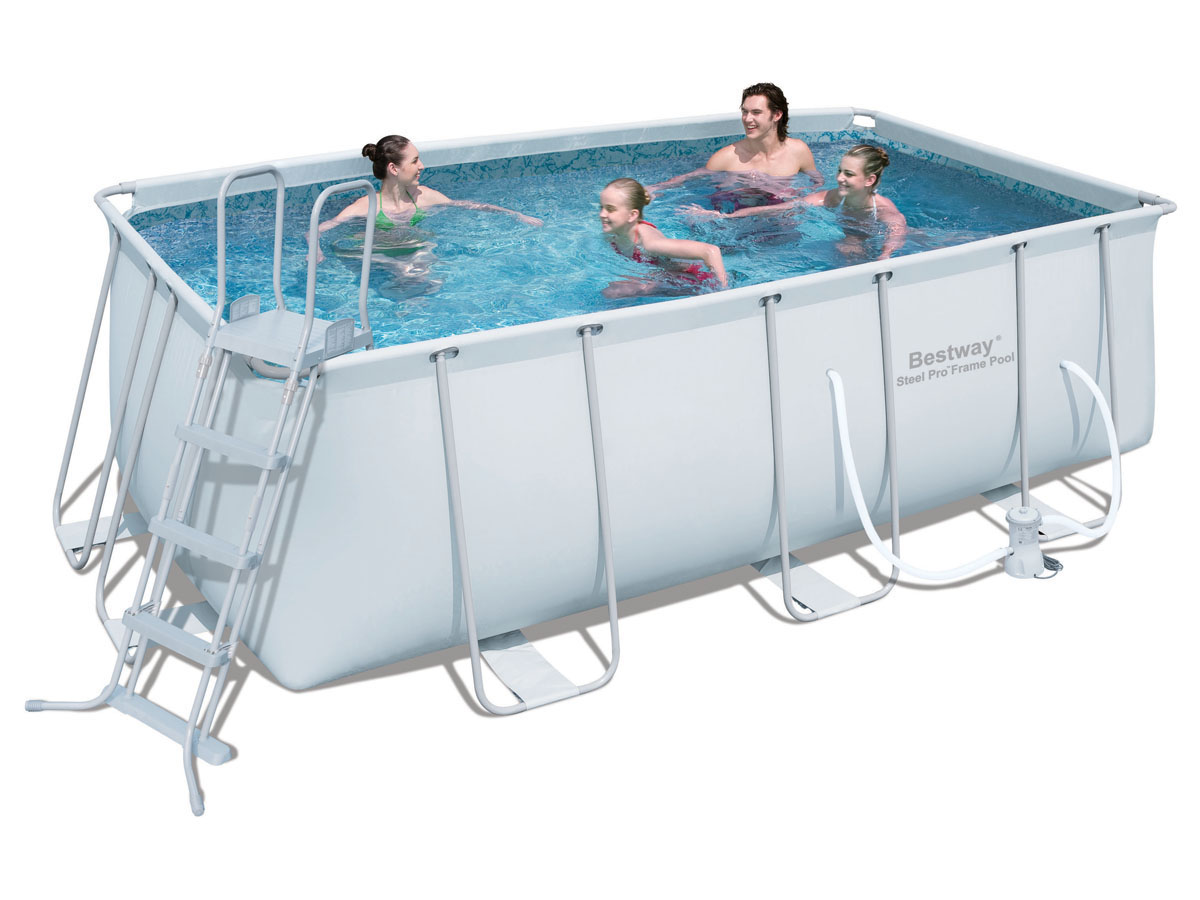 piscine tubulaire rectangulaire power steel frame x