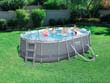 "Piscine tubulaire ovale ""Power Steel Frame Ovale"" - 4.24 x 2.50 x 1.00 m"