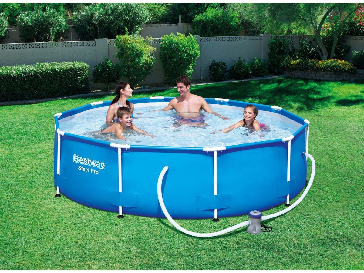 Piscine tubulaire pro x m 87531 for Piscine tubulaire