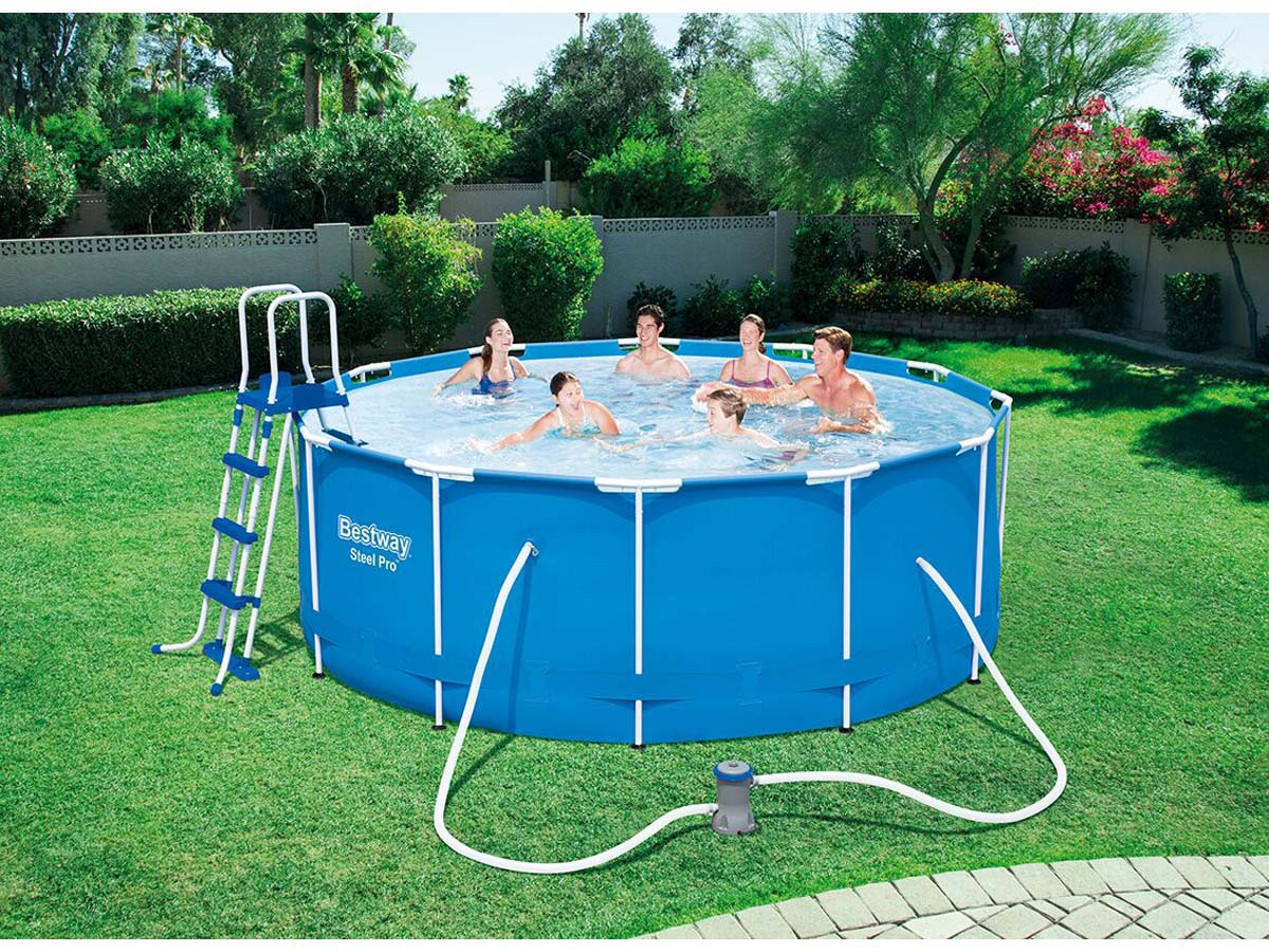Piscine tubulaire pro x m 87535 for Piscine tubulaire 1 22