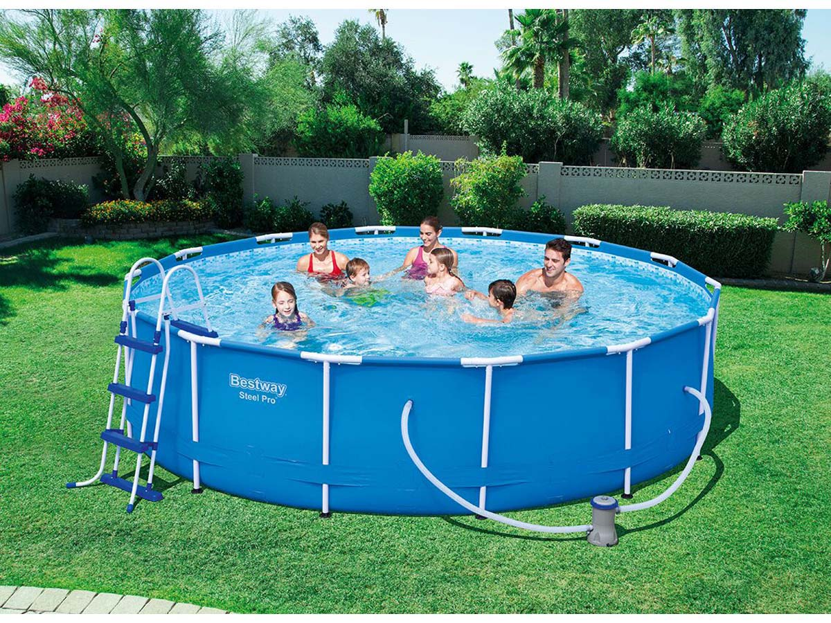 Piscine bestway pro for Habitat et jardin piscine