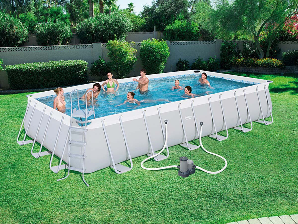 Piscine tubulaire x x m 92881 for Protection platre piscine