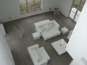 """Parquet vieilli  """"Ancy"""" -  1 m² - Brut gris - Longeurs panachées - Largeurs mélangées 110/150 mm.  - Epaisseur 14 mm."""