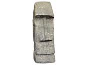 Statue Tiki basanite  - hauteur 150 cm. - Pierre naturelle