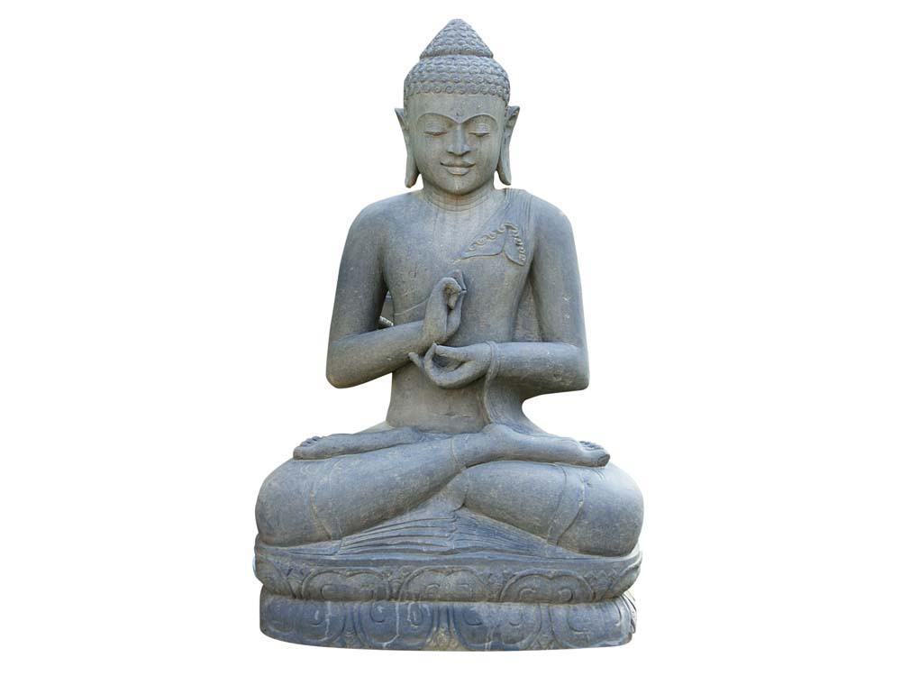 statue bouddha assis argumentation hauteur 150 cm. Black Bedroom Furniture Sets. Home Design Ideas