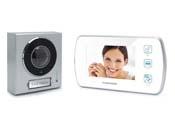 Interphone video tactile - Ecran vidéo couleur 4.3